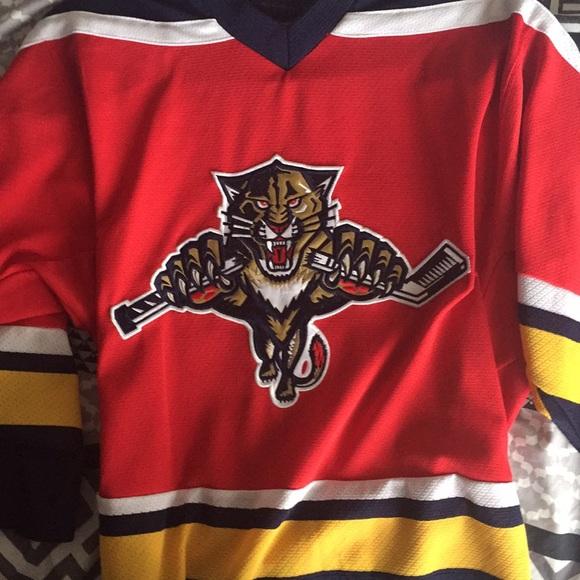 Florida Panthers home jersey